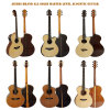 Aiersi Wholesale Electric Talent Custom All Solid Acoustic Guitars