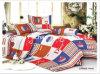 中国の製造者のクイーンサイズの多綿の物質的な印刷された寝具の一定の製造の卸売のシーツ