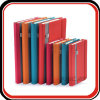 Cuadernos y diarios de cuero de encargo de la agenda de los organizadores del Hardcover de la PU