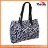 Sac d'emballage neuf de sac d'épaule de tissu de jacquard de type avec l'impression de léopard