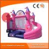 Princesse 2017 Inflatable Pink Castle avec le combo T3-710 de glissière