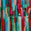 Peinture à l'huile abstraite de métier (ZH3199)