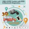 El nuevo perseguidor del coche del OBD GPS con Bluetooth de diagnóstico, alto Anti-Trata de forzar (TK228-EZ)