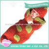 Qualitäts-Winter-Wollen stricken Baby-Strickjacke mit der Hand