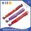 Wristband хорошего качества 2017 сплетенный тканью для случаев