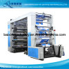 Impresoras flexográficas de alta velocidad que ruedan el material