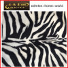 Tessuto animale del velluto della stampa del reticolo per l'indumento di modo (EDM5071)