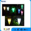 太陽電池パネルが付いているLEDのハングライトを変更するRGBカラー