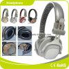 Auricular móvil blanco de la estereofonia del deporte del metal de los accesorios