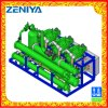 Unità di condensazione del compressore a vite parallelo con il condensatore raffreddato ad acqua