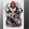 Etiqueta engomada temporal impermeable del tatuaje del tótem del modelo del elefante