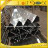 La fábrica suministra directo perfil de aluminio triangular de la protuberancia