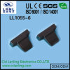 9pin 15pin 25pin 37pin Black D-SUB Flat Cable Plastic Hoods
