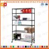 5 Reihe-Haus-Büro-Speicher-Draht-Zahnstangen-Organisator (Zhw41)