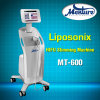 Cuerpo de Hifu de la pérdida de peso de Liposonix del ultrasonido del foco que adelgaza la máquina