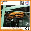 Système de convoyeur d'enduit de poudre/chaîne
