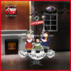 Natale Decoration Snowing Street Lamp con il LED Decoration variopinto