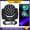 LED Zoom Wash 19X15W 4 en 1 Moving Head Light