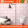 Papier peint respectueux de l'environnement de pièce de lit avec de relief