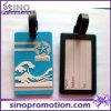 Do silicone engraçado do cartão da identificação da cor da promoção Tag de borracha da bagagem
