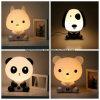 Luz da noite dos desenhos animados da panda/coelho/cão/gato do quarto do bebê