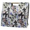 蝶デザインキャンバス袋の100%年の綿のショッピング・バッグ