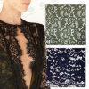 Tissu de lacet de rayonne de qualité/lacet de crochet/lacet de tissu/lacet de broderie