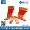 Salvage와 Overpack를 위한 개머리판쇠 Welder Spare Copper Alloy Welding Accessory