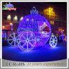 熱い新製品の休日ライト2015製造のクリスマスの照明の原動力となる3Dカボチャキャリッジ装飾ライト