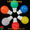Casquillo plástico G45 B22 cubierta del bulbo de 0.5 vatios LED