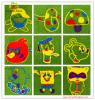 رسم متحرّك جميل عشب اصطناعيّة لأنّ روضة أطفال