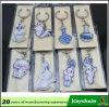 El cartón de encargo hizo Keychains/Keychains barato de la publicidad