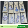 Douane Karton Gemaakte Keychains/Goedkope Reclame Keychains