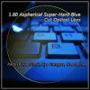 1.60 Lente óptica cortada azul Estupendo-Duro asférico