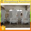 Heißer Verkaufs-bester Preis-Hochzeits-Samt-Stuhl