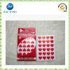 Autocollant chaud d'Adheisve de forme d'amour de ventes pour le cadeau de promotion (JP-S085)