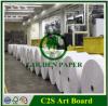 Überzogener zwei seitlicher C2s Vorstand Golss/Matt-Kunst-Vorstand-Verpackungs-Papier