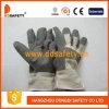 Ddsafety 2017 Grijze Handschoenen van pvc met Witte Katoenen Rug