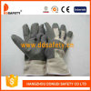 Grijs pvc Gloves met White Cotton Back (DGP106)