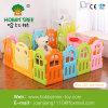 Playpen безопасности младенца, загородка игры детей типа доски игры, покрашенная пластичная загородка для европейского стандарта