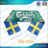 Langer Silk Satin-Sport gedruckter Geschenk-Schal (T-NF19F10004)