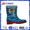 Цветастые ботинки дождя PVC способа для детей/мальчиков (TNK70012)