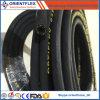 Mangueira hidráulica de borracha trançada SAE 100r6 Manufactre da fibra