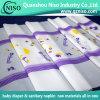 Material de la diapositiva del pañal 3D Película de polimerización de relieve con certificación SGS