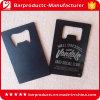 Kundenspezifischer Drucken-Kreditkarte-Metallflaschen-Öffner mit Keychain Loch