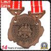 Изготовленный на заказ медаль металла фертига-аппарат серебра Antique металла для случаев