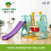 Trasparenza dell'interno del bambino di stile popolare 2017 e giocattoli di plastica dell'oscillazione per la famiglia (HBS17001B)