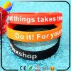 Bracelet en silicone et bracelet en silicone personnalisé et personnalisé Logo Bracelet en caoutchouc et en PVC pour cadeaux promotionnels