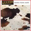 Tessuto animale del velluto della stampa del reticolo per l'indumento di modo (EDM5075)