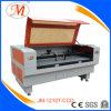 De promotie 1.2*1m Scherpe Machine van de Laser met het Plaatsen van Camera (JM-1210t-CCD)
